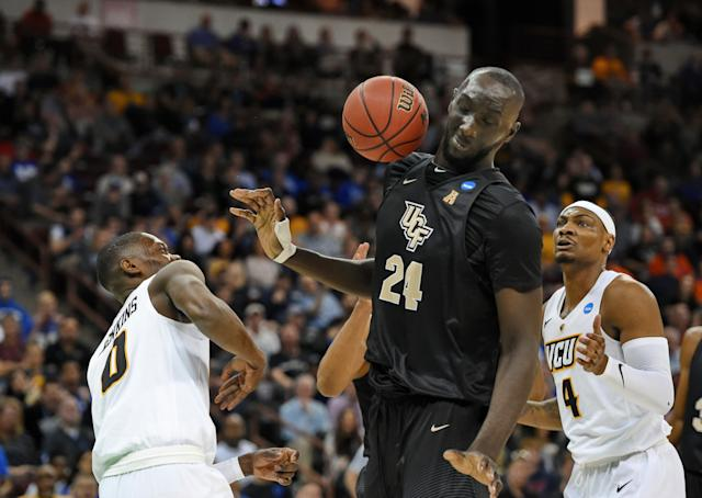 Tacko Fall is taking over March Madness. (AP)