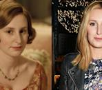 <p>It's almost hard to recognize the middle Crawley sister on <em>Downton Abbey </em>when the actress is out and about as herself.</p>