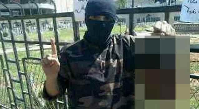Abdel-Majed Abdel Bary recently tweeted a photo of himself holding up a severed head. Photo: Supplied
