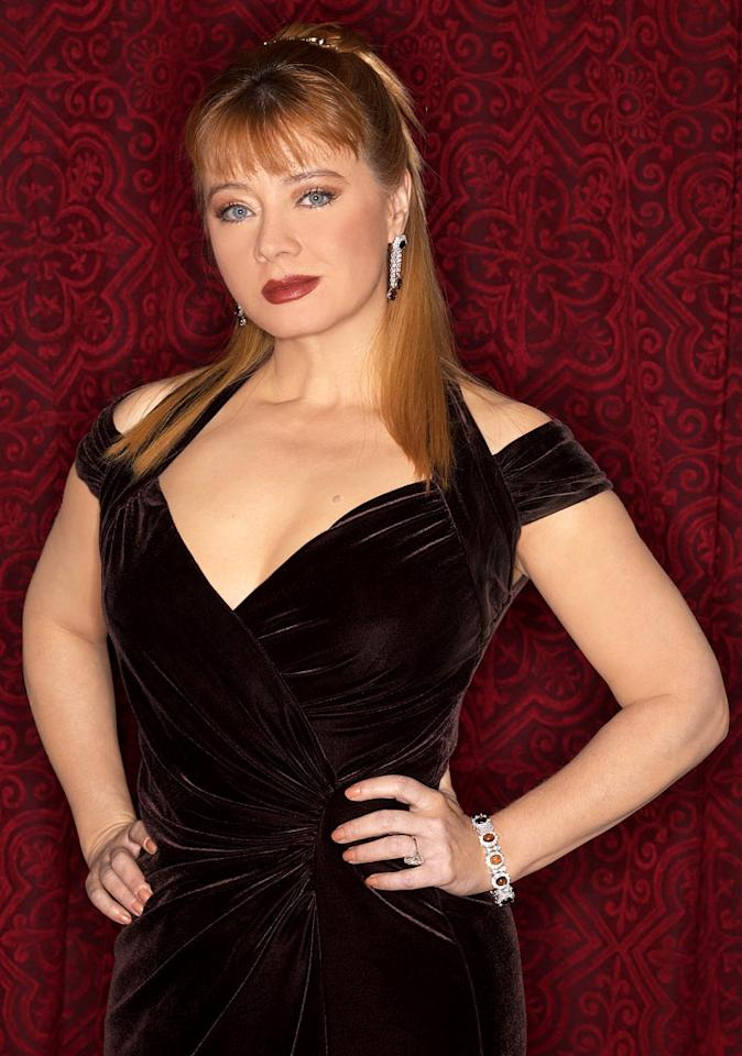 Andrea Evans stars as Rebecca in Passions on NBC.