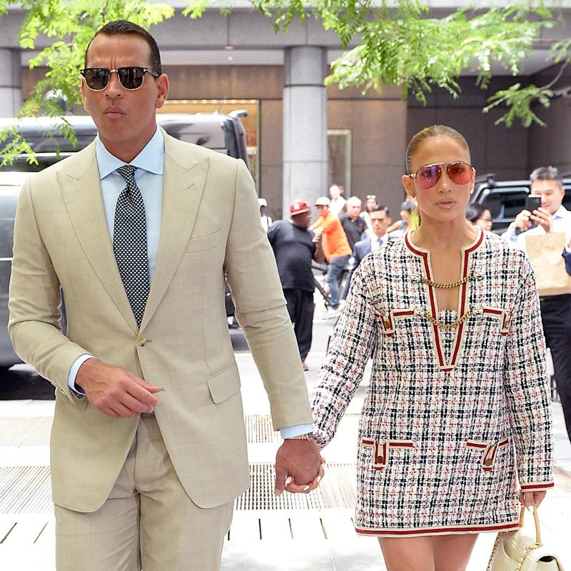 Jennifer Lopez and Alex Rodriguez Turn Their Lunch Date Into a Major Fashion Moment