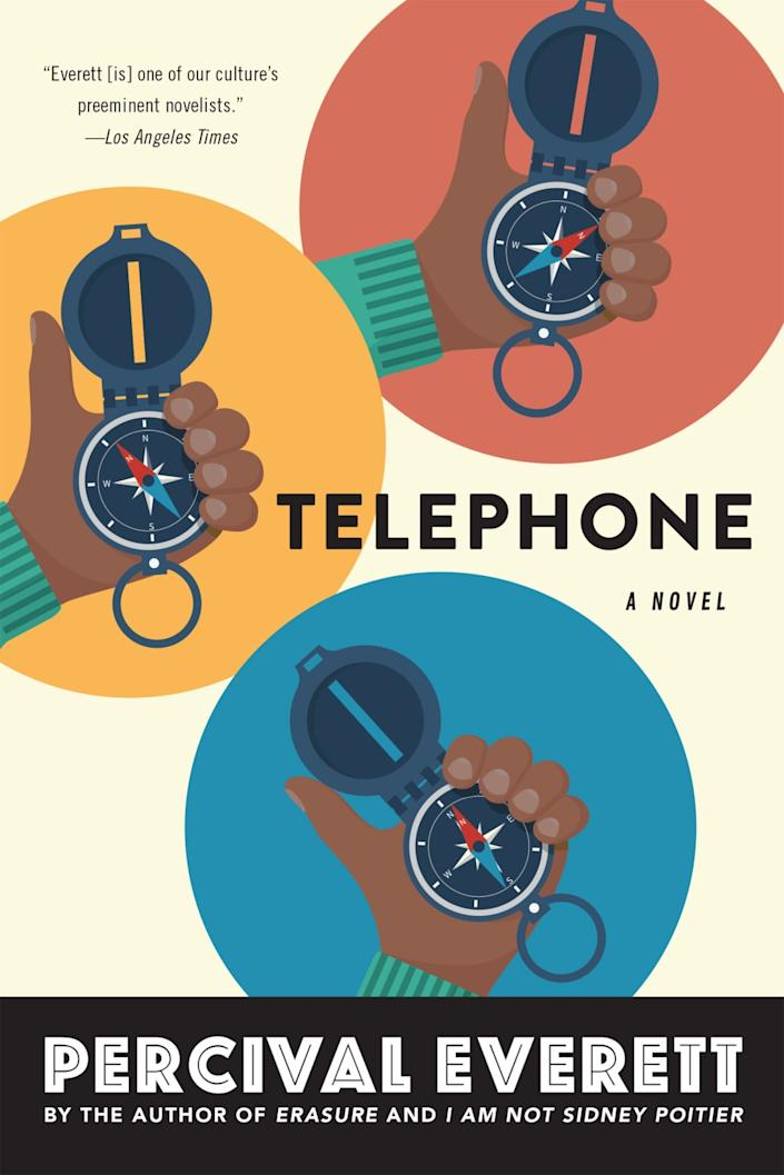 "Percival Everett's latest novel, ""Telephone."""