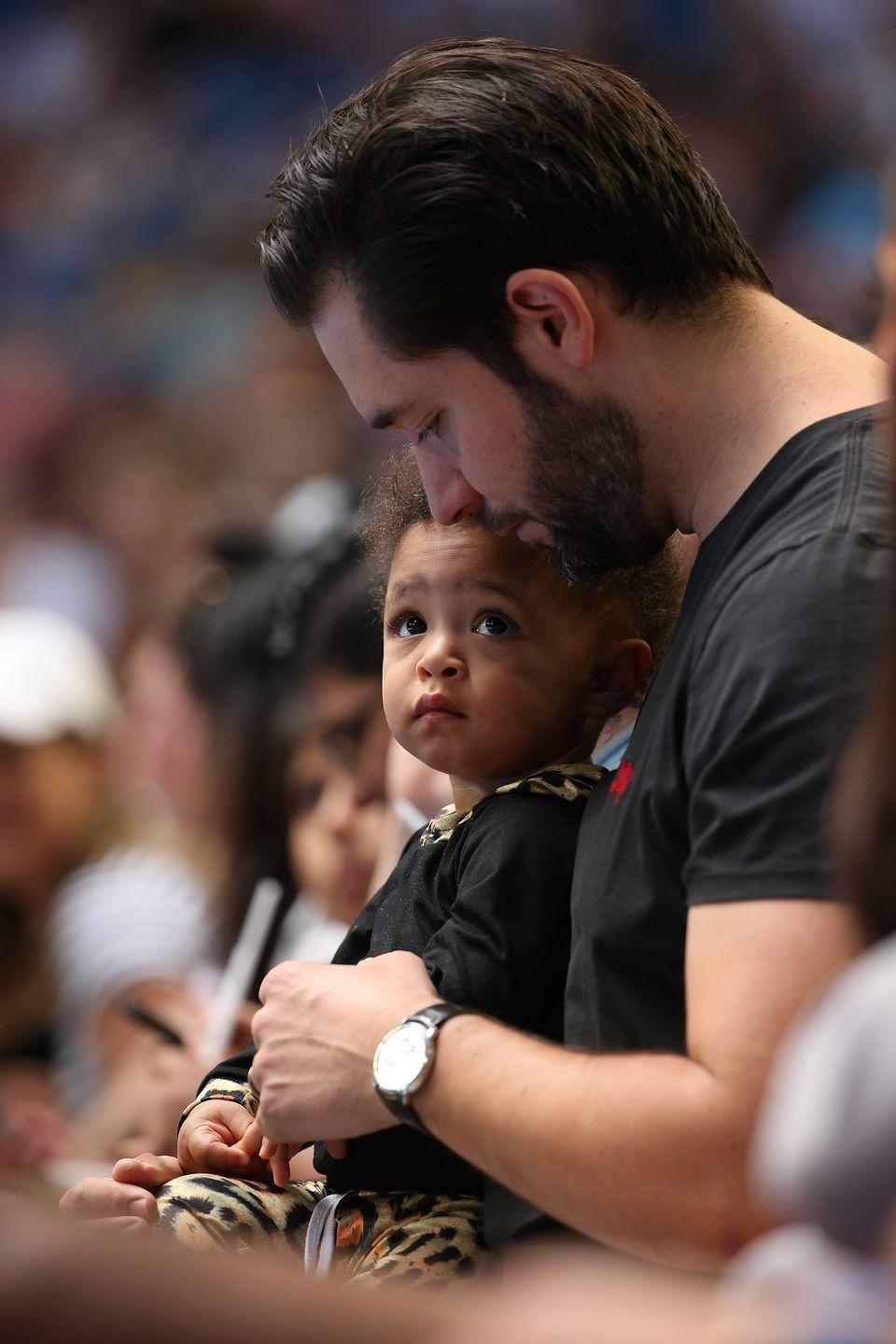 """<p><strong>Children</strong>: Alexis Olympia Ohanian Jr. (2)</p><p>Dad of the year award might go to the reddit co-founder, who recently <a href=""""https://www.instagram.com/p/CBD1lm4HPdi/?utm_source=ig_embed"""" rel=""""nofollow noopener"""" target=""""_blank"""" data-ylk=""""slk:stepped down from the company's board"""" class=""""link rapid-noclick-resp"""">stepped down from the company's board</a> to make room for a Black person to join, and previously <a href=""""https://www.oprahmag.com/entertainment/a28687396/alexis-ohanian-serena-williams-paternity-leave/"""" rel=""""nofollow noopener"""" target=""""_blank"""" data-ylk=""""slk:encouraged other fathers to take paternity leave"""" class=""""link rapid-noclick-resp"""">encouraged other fathers to take paternity leave</a> if they can. Plus, <a href=""""https://www.oprahmag.com/life/relationships-love/a25132106/serena-williams-alexis-ohanian-cutest-moments/"""" rel=""""nofollow noopener"""" target=""""_blank"""" data-ylk=""""slk:he and his wife Serena Williams are just the cutest"""" class=""""link rapid-noclick-resp"""">he and his wife Serena Williams are just the cutest</a>.</p>"""