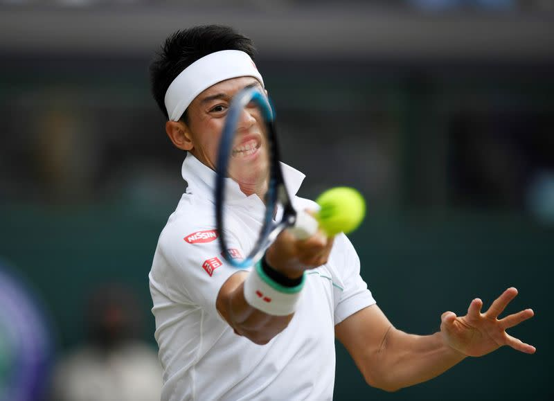 Nishikori tests negative for COVID-19, but withdraws from U.S. Open