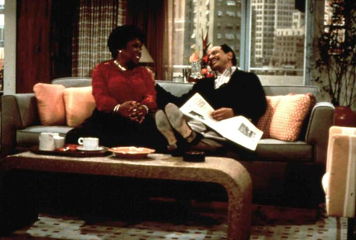 """<h1 class=""""title"""">Die Jeffersons Jeffersons: Nick At Nite, The Sherman Hemsley, Isabel Sanford *** Local Caption *** 1975 MTV Networks</h1><cite class=""""credit"""">Photo: United Archives GmbH / Alamy Stock Photo</cite>"""