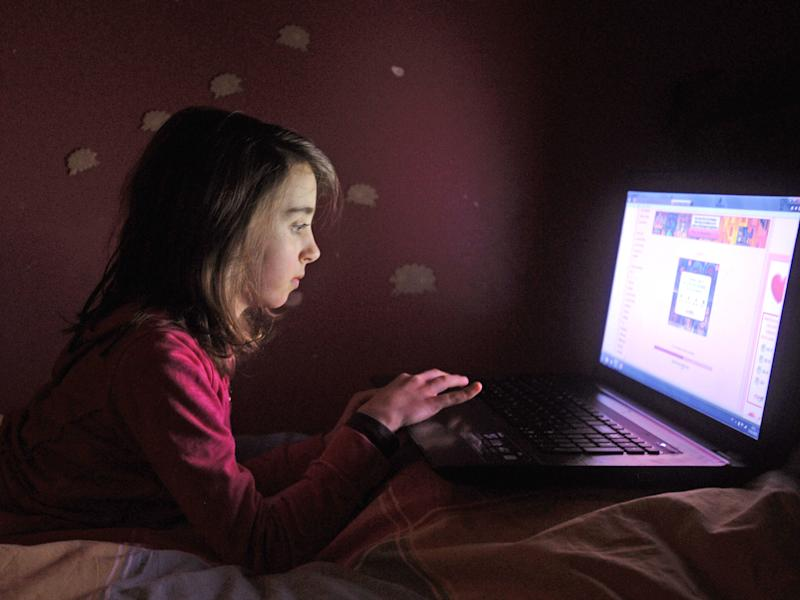Nine out of 10 schoolchildren have watched pornography online, new research suggests: Getty Images