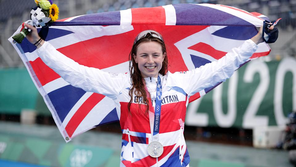 Taylor-Brown, 27, secured silver in the early hours of Tuesday morning