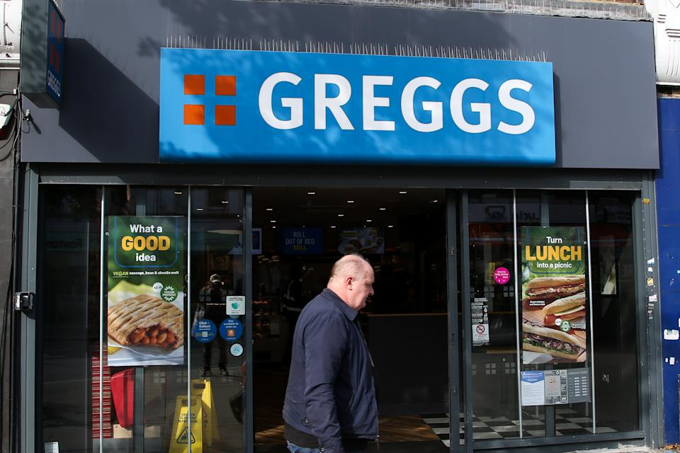 Greggs warns of rising costs, labour shortages and supply chain woes. Photo: Dinendra Haria/SOPA Images/LightRocket via Getty