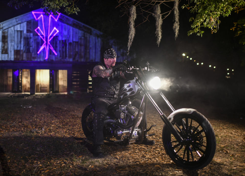 The Undertaker rides again. (WWE)