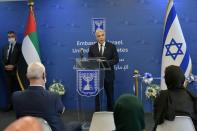 Israeli foreign minister in UAE on first official visit