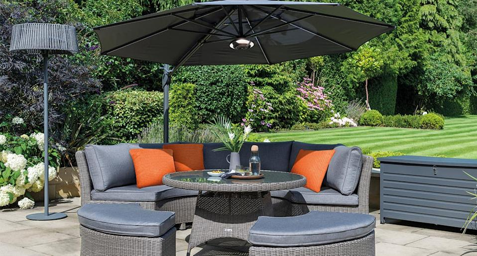 Searching for a chic outdoor heater? We've found just the ticket. (Kettler)