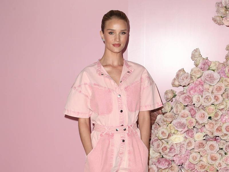 Rosie Huntington-Whiteley would love to swap lives with Rihanna for a night