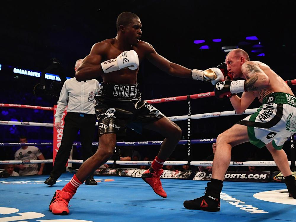 Ohara Davies has not dropped his bad-bay persona despite defeat in his last outing (Getty)