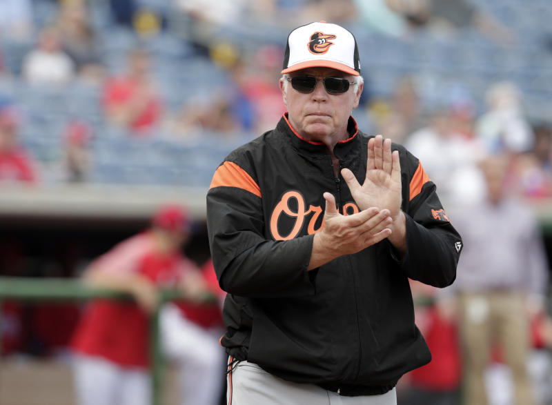 Can Buck Showalter figure out another winner in Baltimore? (AP)