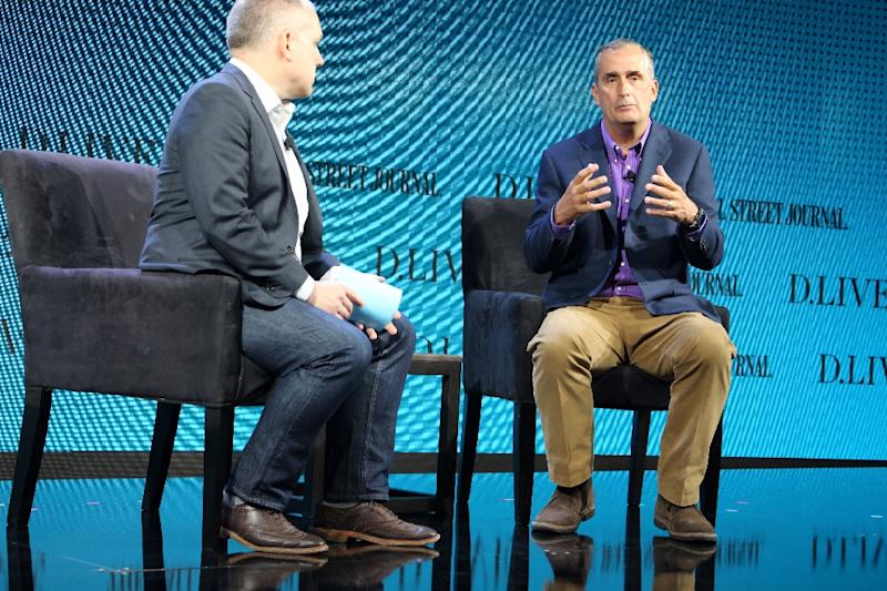 Intel CEO Brian Krzanich says his company wants to be at the forefront of computer chips designed for artificial intelligence applications