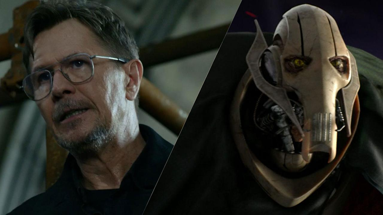 """<p>Gary Oldman came very close to voicing General Grievous, but was hampered by union rules.<br />""""We did urge Lucas to ask SAG for special permission for Gary to do the movie, but they became very annoyed and I know they are still annoyed,"""" Oldman's manager, Doug Urbanski, said in 2004.<br />""""We're quite puzzled by the whole thing. But out of respect for and solidarity with the other [SAG] members, he could not and would not consider violating the rules of his union."""" </p>"""