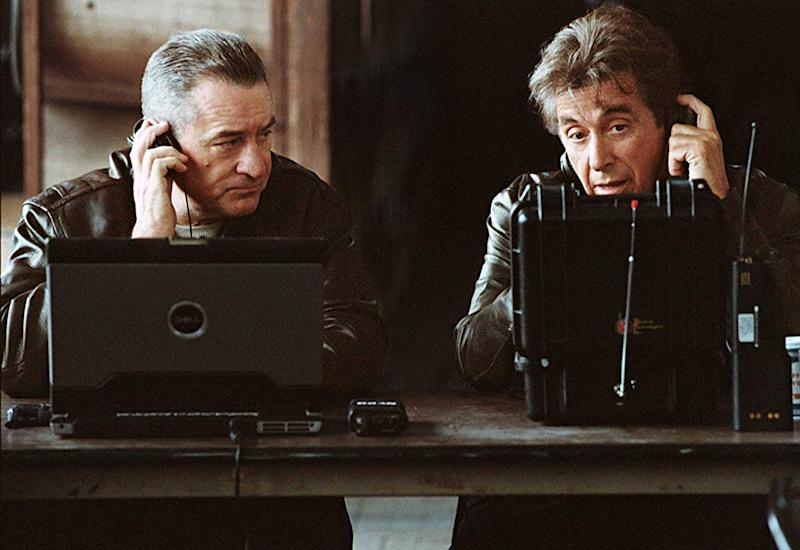 De Niro and Pacino in Righteous Kill (Credit: Universal)