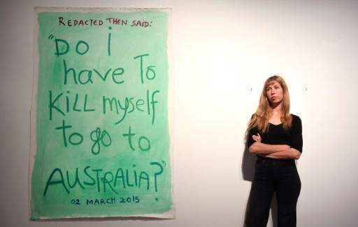 Australian artist and activist Arielle Gamble says the information blackout on Nauru is an attempt to prevent the media drawing attention to the plight of those in detention