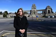 Funeral home manager Roberta Caprini: 'Normally, we organise about 1,400 burials a year. But in March 2020, we did 1,000'