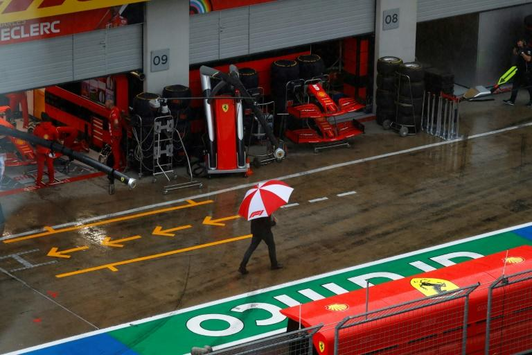 Final practice for the Styrian Grand Prix has been postponed due to storms