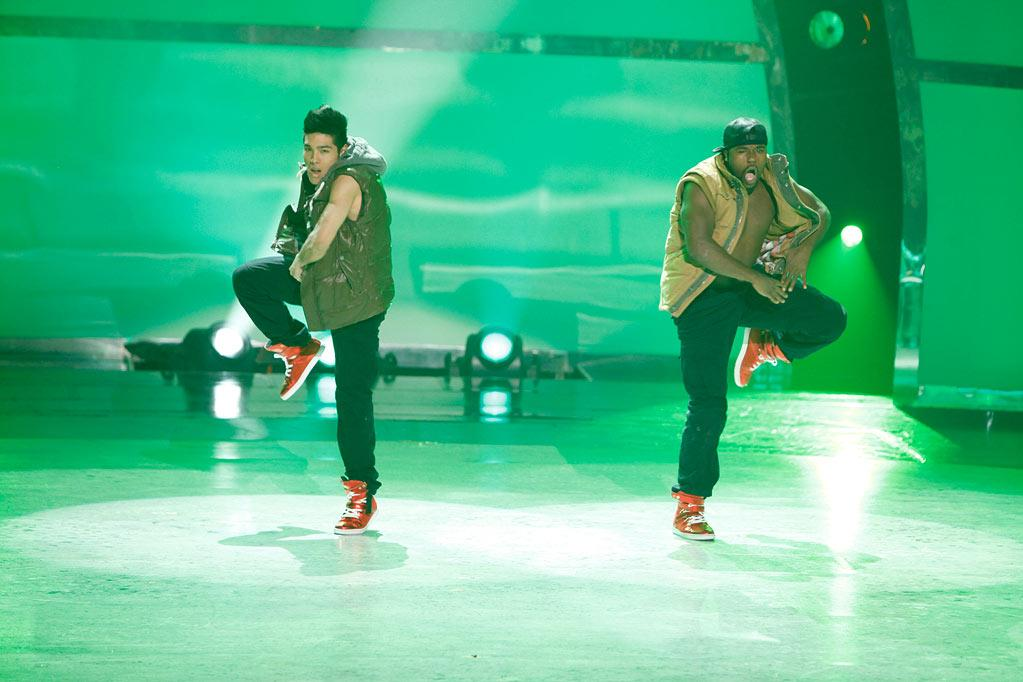 """Tadd Gadduang and all-star partner Joshua Allen perform a Hip-Hop routine to """"Hustle Hard,"""" choreographed by Lil' C on """"So You Think You Can Dance."""""""