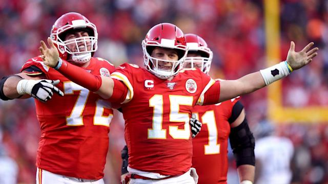 The Kansas City Chiefs reached the Super Bowl for the first time since the 1969 season following a stunning display from Patrick Mahomes.