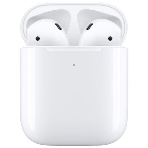 Apple AirPods In-Ear Truly Wireless Headphones. Image via Best Buy.