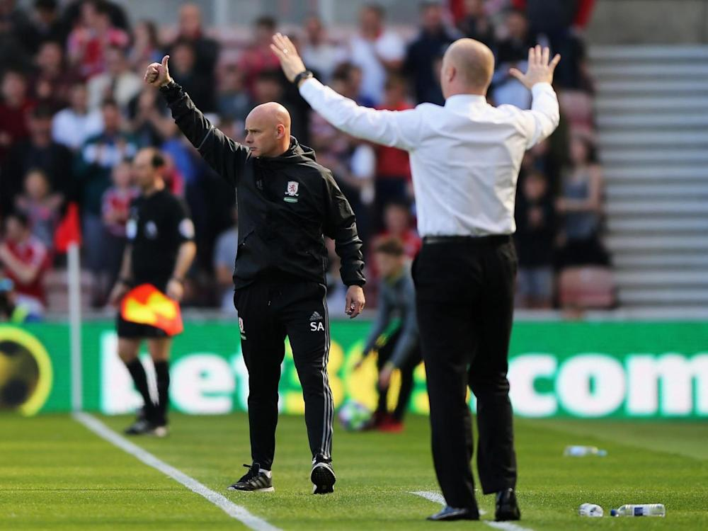 Both managers cut agitated figures on the touchline (Getty)