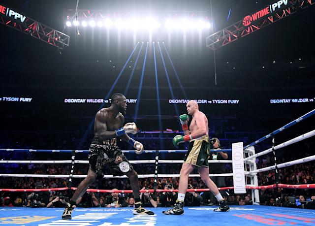Tyson Fury vs. Deontay Wilder is going down again. (Getty Images)