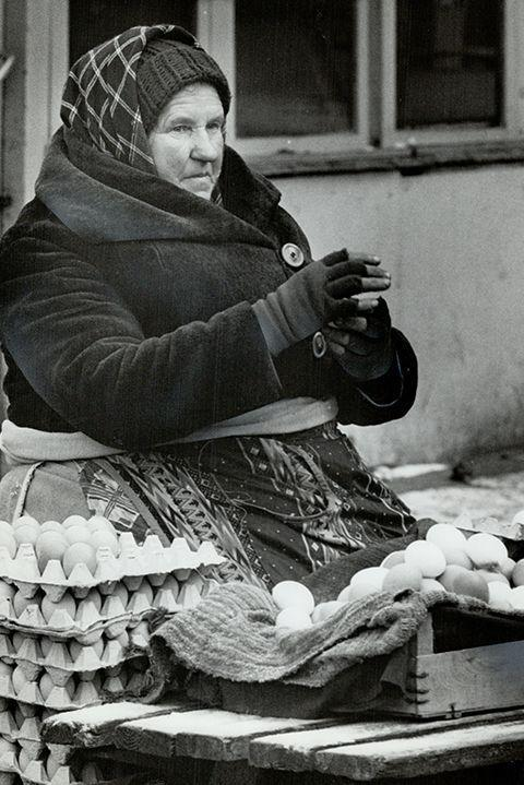 <p>We're not going to lie, there's nothing too eggsquisite about this job. The egg carton was invented in 1911, and Egglers began to sell bulk batches of eggs and sometimes switched it up with other poultry. At the end of the day, they couldn't wing it with just eggs and poultry and added other food to the mix. Today, you can find these folks at farmers' markets.</p>