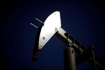 A pumpjack brings oil to the surface in the Monterey Shale, California