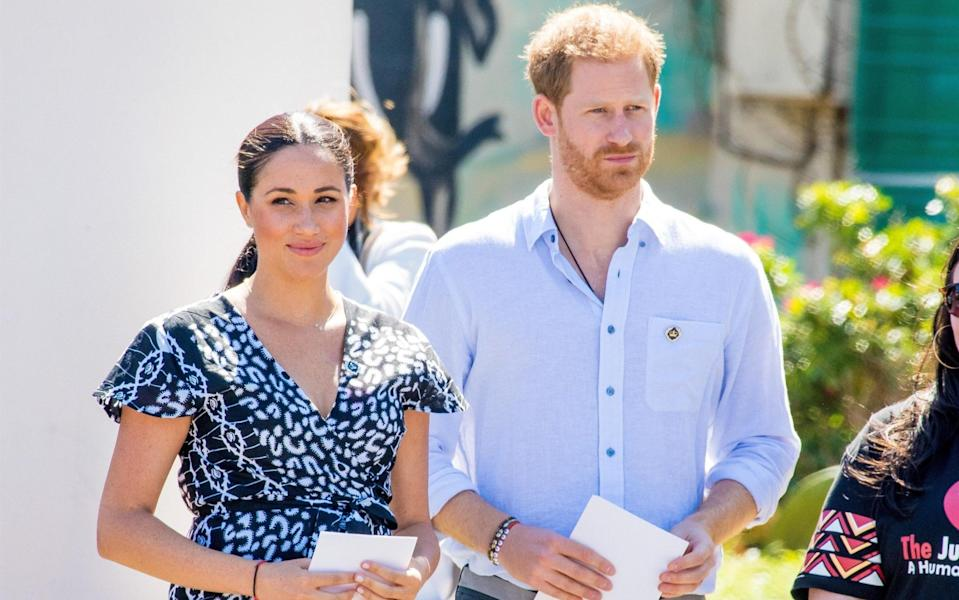 The Sussexes have moved to Santa Barbara - Getty Images