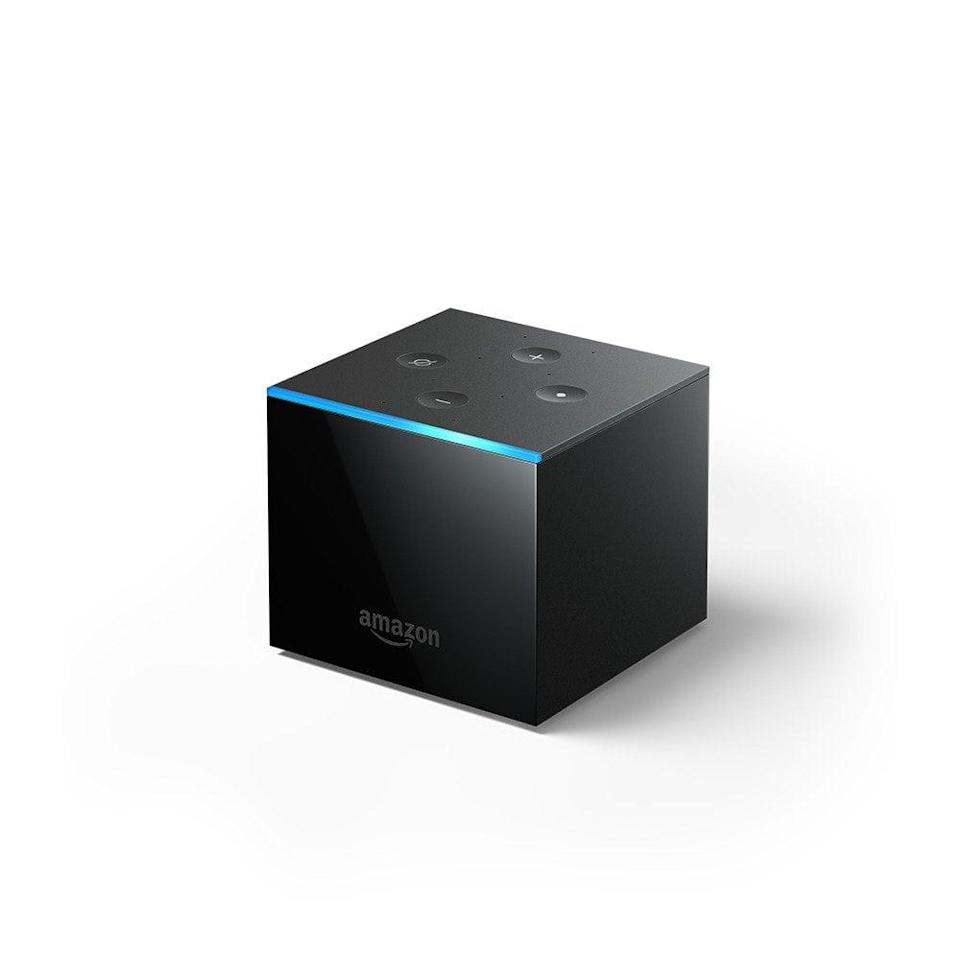 <p><span>Fire TV Cube | Hands-free streaming device with Alexa | 4K Ultra HD</span> ($100, originally $120)</p>
