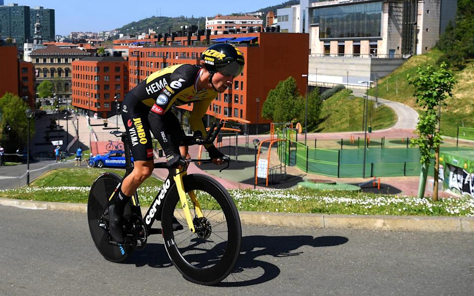 Primoz Roglic — Primoz Roglic wins opening stage time trial to take lead at Itzulia Basque Country - GETTY IMAGES