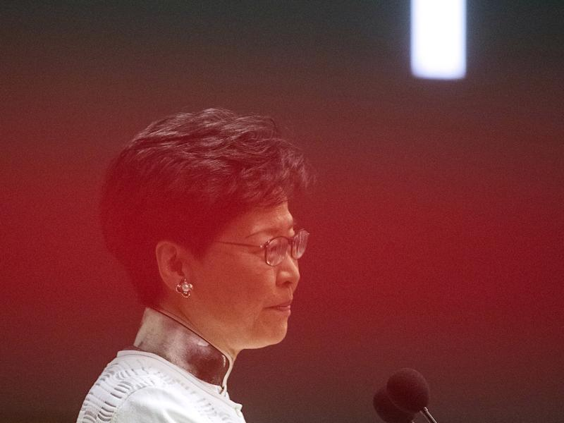 "(Bloomberg) -- Hong Kong's leader suspended efforts to pass a bill allowing extraditions to China, in a dramatic reversal that she said was necessary to restore order in the Asian financial hub and avoid further violence and mass protests.Carrie Lam, Hong Kong's chief executive, announced the legislative ""pause"" at a news conference Saturday, even as activists asked hundreds of thousands of residents who marched in protest last weekend to return to the streets and demand her resignation. Lam acknowledged that debate had shattered a period of relative calm in the former British colony, including clashes between demonstrators and police Wednesday that left more than 80 people hurt.""Polarizing views in relation to this bill in society have given rise to violence, very serious confrontations,"" Lam told reporters in a briefing that lasted 75 minutes. ""That's why I have come to the view that I have to do something decisively to address the issue of how could I restore as fast as possible the calm in society, and how could I avoid any more law enforcement officers and ordinary citizens being injured.""Lam stopped short of withdrawing the proposal, which would let Hong Kong reach one-time agreements with mainland China and other jurisdictions, arguing that would contradict her belief that reform was necessary. She said, however, it was unlikely the government would seek its passage before the end of the year.Hong Kong and Macau Affairs Office, the Beijing-based agency that oversees the city, expressed ""support, respect and understanding,"" the official Xinhua News Agency said Saturday, citing an unnamed spokesman. The statement echoed Lam's own remarks during her news conference, in which she repeatedly said the decision to suspend consideration was her own.Lam's decision ""will certainly ease tensions of the general public a lot,"" Felix Chung, who represents the textile and garments industries as a pro-establishment member of Hong Kong's legislature, said in a phone interview. ""There's no time limit,"" he said. ""She'll go back through the traditional channels for consultation.""Chung said the Legislative Council might eventually ask Lam to form a committee to bring the law back for another reading.The move failed to satisfy organizers of a planned 3 p.m. protest Sunday, who urge the bill's withdrawal, Lam's resignation and the release of demonstrators arrested this week. ""We are disappointed and angry after this press conference,"" Jimmy Sham, convener of the Civil Human Rights Front, said at a news briefing Saturday.It was stunning shift for Lam, who decided to press ahead with the proposal despite escalating protests including a June 9 march that drew hundreds of thousands of opponents into the streets. Her decision to move forward with debate led thousands more demonstrators to surround the legislative complex on June 12, resulting in scuffles when protesters tried to force their way into the building and police unleashed tear gas and rubber bullets.Opponents fear the legislation would blow up the legal wall separating the city's justice system from the mainland. Business groups argued the city would lose its appeal as a financial center while critics of the ruling Communist Party worried they would be exposed to prosecution in Chinese courts.While Beijing expressed repeated support for the proposal, several Western governments raised concern that it undermines the ""one country, two systems"" framework that guaranteed free speech, capitalist markets and independent courts in Hong Kong after its 1997 return. U.S. lawmakers had threatened to reconsider the city's special status that supported $38 billion in trade last year.A timeline of Hong Kong's standoff over extraditionThe unrest in China's most international city comes at a bad time for Chinese President Xi Jinping, who needs to convey domestic strength ahead a pivotal potential summit with Donald Trump on the sidelines of the Group of 20 meetings this month in Japan.""It was the combination of popular protests and the concerns raised within the establishment camp, which have led the government to suspend their proposals,"" said Tim Summers, a Hong Kong-based senior consulting fellow with Chatham House. ""To do otherwise would have risked further escalation, so I think both the business community and the pro-establishment, pro-Beijing camp will be relieved at today's announcement.""Eroding AutonomyThe legislation is part of a series of measures that pro-democracy advocates say has eroded Hong Kong's autonomy. Lam, who was selected by a 1,200-member committee stacked with Beijing loyalists, has struggled to convince critics that the bill was her own initiative and not ordered up by Chinese authorities.Lam said she needed the legislation to close a gap that prevented the city from extraditing a local man to Taiwan to face murder charges and wanted to pass the bill before the current legislative session ends next month. During her news conference, she blamed a statement Thursday by Taiwanese President Tsai Ing-wen -- a frequent Beijing critic -- that Taipei wouldn't cooperate with the extradition bill for removing the urgency to pass it.Lam, who took office two years ago promising to heal divisions exposed by the mass Occupy protests in 2014 and the emergence of a small but assertive independence, expressed remorse that the proposal had become so controversial. She said the government should focus on improving people's livelihoods while attempting to build support for the extradition bill.""People in Hong Kong want a relatively calm and peaceful environment,"" Lam said. ""So this is a time -- after what you describe as this tension, conflicts, and so on -- this is a time for a responsible government, having looked at the situation and the circumstances, to restore as quickly as possible that calmness in society.""\--With assistance from April Ma, Matthew Campbell, David Tweed, Niu Shuping and Blake Schmidt.To contact the reporters on this story: Shawna Kwan in Hong Kong at wkwan35@bloomberg.net;Fion Li in Hong Kong at fli59@bloomberg.netTo contact the editors responsible for this story: Brendan Scott at bscott66@bloomberg.net, ;Andrew Davis at abdavis@bloomberg.net, Karen LeighFor more articles like this, please visit us at bloomberg.com©2019 Bloomberg L.P."