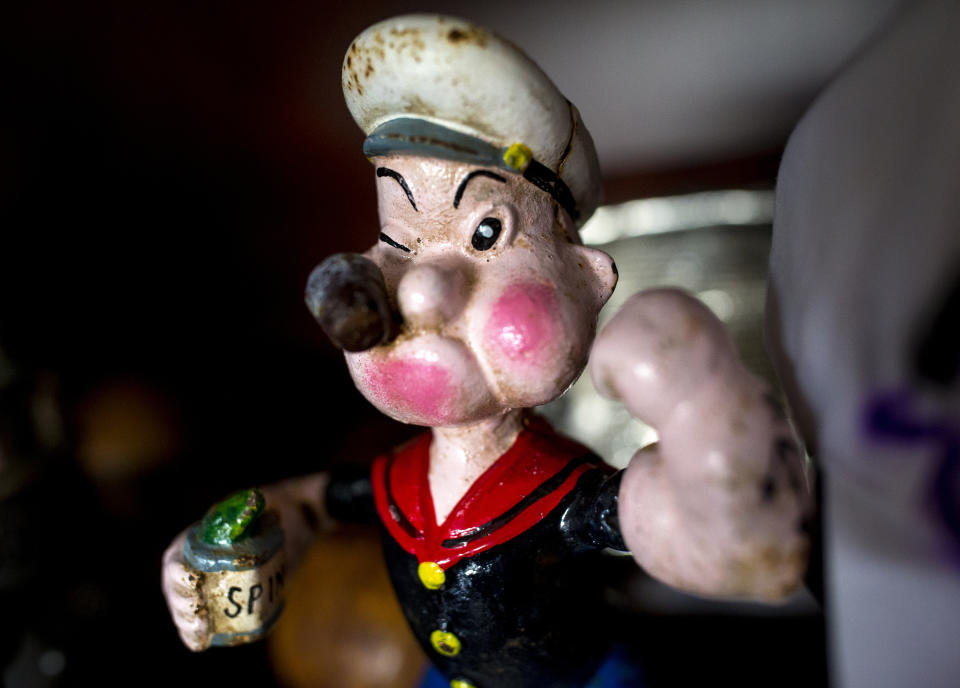 Before Donkey Kong and Mario, Nintendo tried to nab the rights to Popeye, but ended up creating their own character based on him instead. (Getty)
