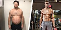 """<p>Matt Ellengold knew he wanted to lose weight but couldn't find the motivation to get started. </p><p>""""The self-loathing just built—and the realization of how much I'd let myself go physically was depressing,"""" he previously told <em>Men's Health</em>. """"I even moved into an apartment block that had gym facilities, and I said every day that I'd go tomorrow, and tomorrow that never happened. I promised myself I would change my diet, eat more healthily, and it didn't happen.""""</p><p>After realizing his weight had increased to 240 pounds, he decided to enlist in help. </p><p>Some Googling led Ellengold to a nearby gym—<a href=""""https://ultimateperformance.com/?MensHealthME"""" rel=""""nofollow noopener"""" target=""""_blank"""" data-ylk=""""slk:Ultimate Performance"""" class=""""link rapid-noclick-resp"""">Ultimate Performance</a>—that specialized in dramatic body transformations. At first, Ellengold was skeptical, but ultimately signed up with the gym. With the help of a trainer, the London man learned about counting macros: the carbs, protein, and fat in food. Changing his diet, logging at least 10,000 steps each day, and training three days a week helped Ellengold see results. Over time, he increased gym sessions and steps, resulting in a 60-pound weight loss in 24 weeks. </p><p><a href=""""https://www.menshealth.com/weight-loss/a28072873/weight-loss-cico-diet-supersets-60-pound-transformation/"""" rel=""""nofollow noopener"""" target=""""_blank"""" data-ylk=""""slk:Read more about Matt's transformation."""" class=""""link rapid-noclick-resp"""">Read more about Matt's transformation. </a></p>"""