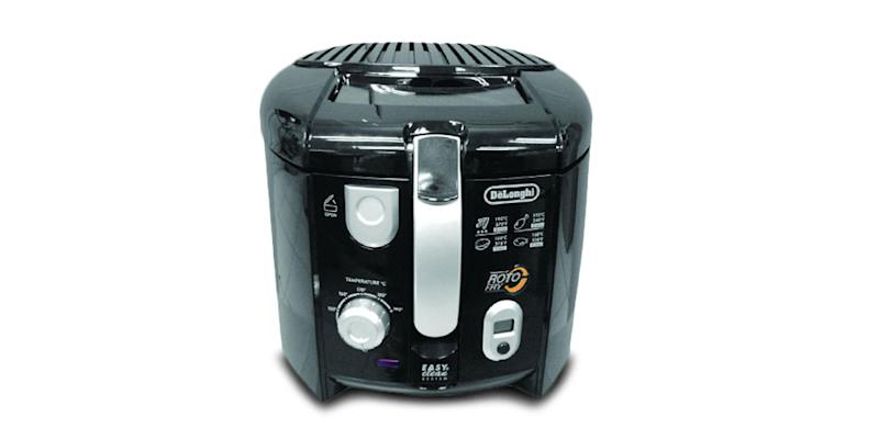 DeLonghi Roto Deep Fryer. (Photo: Yahoo Lifestyle Store)