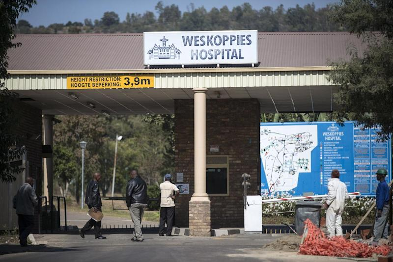 The Weskoppies Psychiatric Hospital where Paralympian sprinter Oscar Pistorius has reported as an outpatient each day, on May 20, 2014 in Pretoria (AFP Photo/Mujahid Safodien)