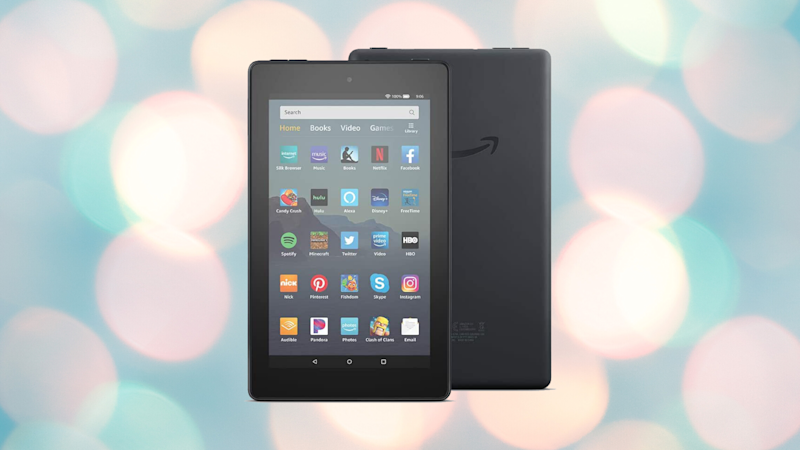 Save 20 percent on the Fire 7 tablet. (Photo: Amazon)