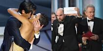 """<p>When it comes to the Academy Awards, we've truly seen it all — eyebrow-raising fashion choices, <a href=""""http://www.goodhousekeeping.com/beauty/fashion/g4202/scandalous-oscars-dresses/"""" rel=""""nofollow noopener"""" target=""""_blank"""" data-ylk=""""slk:full nudity"""" class=""""link rapid-noclick-resp"""">full nudity</a>, <a href=""""https://www.goodhousekeeping.com/life/entertainment/a26515329/oscars-2019-recap-awkward-moments/"""" rel=""""nofollow noopener"""" target=""""_blank"""" data-ylk=""""slk:awkward musical numbers"""" class=""""link rapid-noclick-resp"""">awkward musical numbers</a>, shocking award declines and so much more. Keep on reading for some of the biggest and most scandalous moments ever in Oscars history over the years.</p>"""