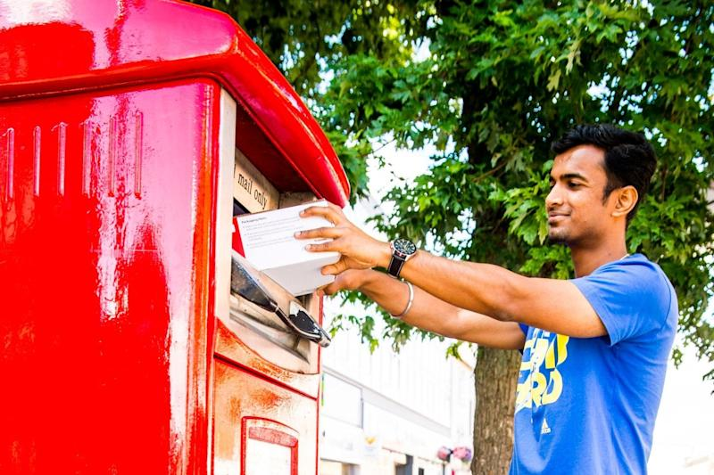 The parcelboxes will be introduced across the UK over a six-month period, starting in August: PA