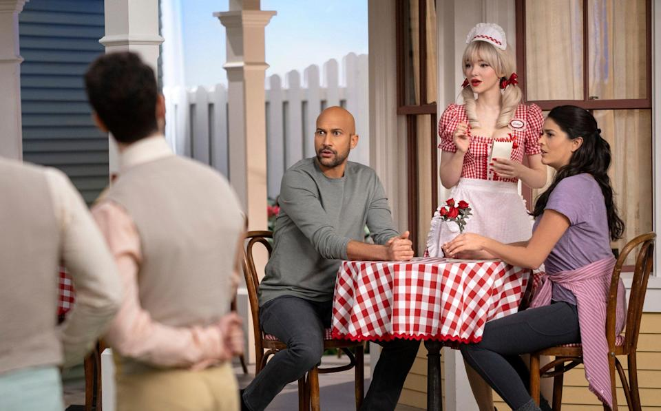 Dove Cameron, Keegan-Michael Key, and Cecily Strong - Apple TV+