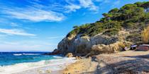"""<p>Located on the island of Elba, Spiaggia di Sansone, or <a href=""""https://www.tripadvisor.com/Attraction_Review-g194861-d3400733-Reviews-Spiaggia_di_Sansone-Portoferraio_Elba_Island_Province_of_Livorno_Tuscany.html"""" rel=""""nofollow noopener"""" target=""""_blank"""" data-ylk=""""slk:Sansone Beach"""" class=""""link rapid-noclick-resp"""">Sansone Beach</a>, is a stunner of a strand framed by sheer white cliffs and translucent blueish-green waters. It's a great spot for swimming and snorkeling. </p><p>Fun fact: Napoleon was exiled to this Tuscan island in 1814.</p><p><a class=""""link rapid-noclick-resp"""" href=""""https://go.redirectingat.com?id=74968X1596630&url=https%3A%2F%2Fwww.tripadvisor.com%2FHotel_Review-g4178630-d231255-Reviews-Hotel_Hermitage_Portoferraio-Biodola_Portoferraio_Elba_Island_Province_of_Livorno_Tusc.html&sref=https%3A%2F%2Fwww.redbookmag.com%2Flife%2Fg34756735%2Fbest-beaches-for-vacations%2F"""" rel=""""nofollow noopener"""" target=""""_blank"""" data-ylk=""""slk:BOOK NOW"""">BOOK NOW</a> Hotel Hermitage<br></p>"""
