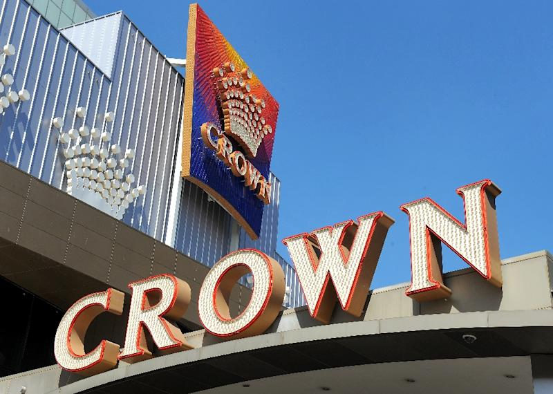 Crown's share price had been heading south in recent months, as a fall in big spenders following a crackdown by Beijing hurt revenue