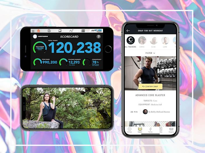 <p>There are dozens of apps on the market to help you start – or continue – working out at home</p> (The Independent/iStock)