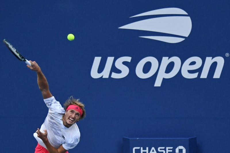 Zverev beats Mannarino after delay over health protocols at US Open