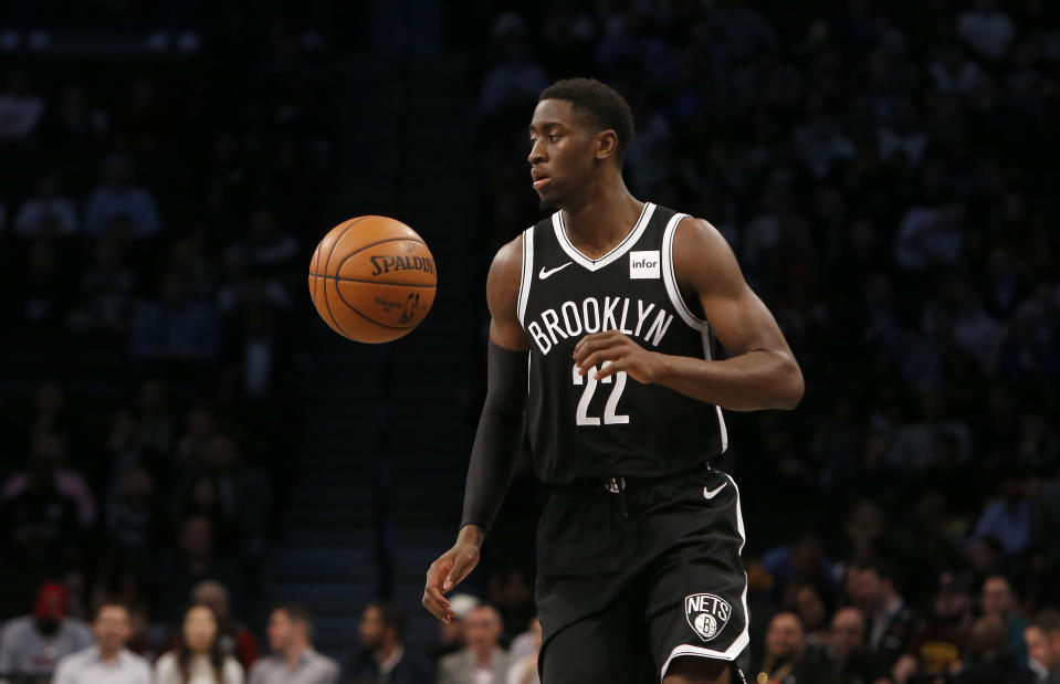 Caris LeVert has flashed star potential in his five seasons with the Nets. (Jim McIsaac/Getty Images)