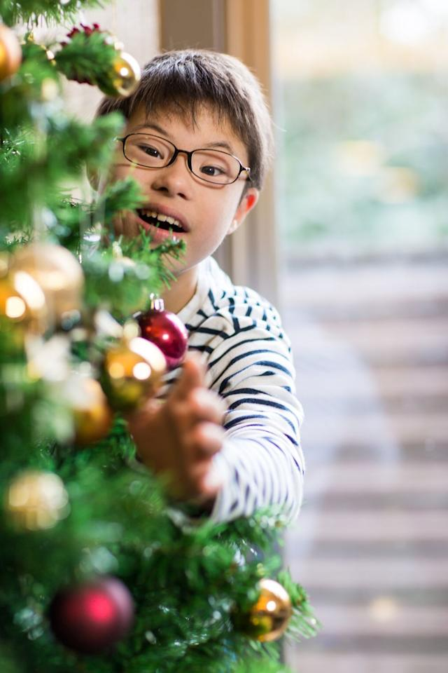 "<p>The tradition of <a href=""https://www.goodhousekeeping.com/holidays/christmas-ideas/g29105524/best-types-of-christmas-trees/"" target=""_blank"">Christmas trees</a> goes all the way back to ancient Egyptians and Romans, who marked the winter solstice with evergreens as a reminder that <a href=""https://www.history.com/topics/christmas/history-of-christmas-trees"" target=""_blank"">spring would return</a>. So if you decorate with a green tree, wreaths, or evergreen garland, you're throwing it back – way back.</p><p><strong>RELATED:</strong> <a href=""https://www.goodhousekeeping.com/holidays/christmas-ideas/how-to/g1253/diy-christmas-wreaths/"" target=""_blank"">Try these DIY Christmas wreaths</a></p>"