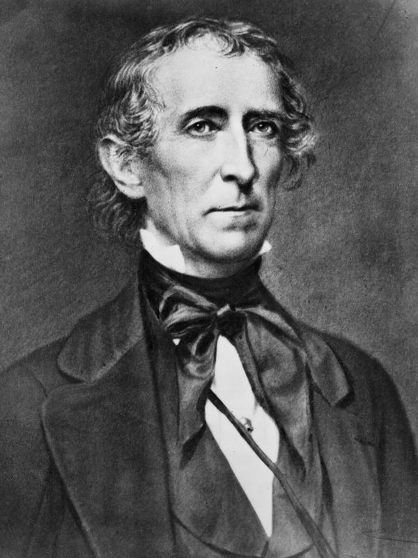 John Tyler (Library of Congress/Unsplash).